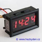 Panelové digitální hodiny LED