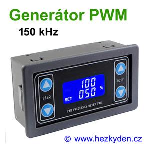 Panelový generátor PWM 150 kHz - 4 tlačítka