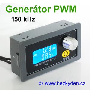 Panelový generátor PWM 150 kHz enkodér