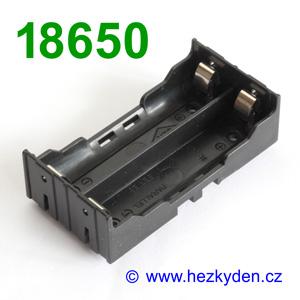 Pouzdro na baterie 18650 DPS