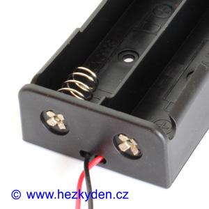 Pouzdro na baterie 18650