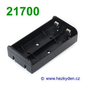 Pouzdro na baterie 21700 DPS
