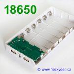 Powerbanka pro 6x baterii 18650