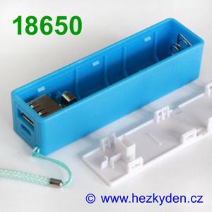 Powerbanka pro baterii 18650