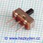 Přepínač mini 2 polohy 2,54 mm