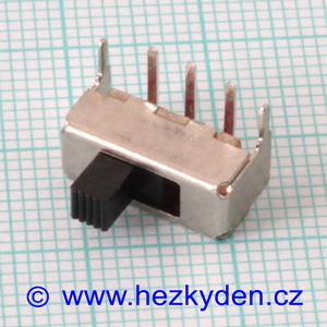 Přepínač mini 2 polohy 3,5 mm