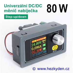 Přístrojový DC/DC měnič DPX3580 - univerzální