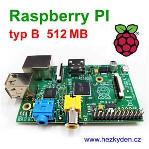 Raspberry PI typ B 512MB