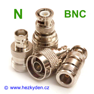 Redukce adapter BNC - N konektor