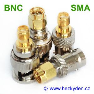 redukce adapter BNC - SMA