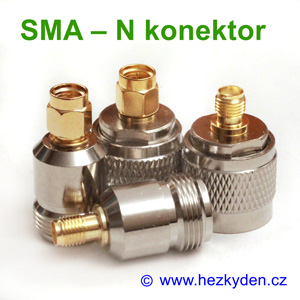Redukce adapter SMA - N konektor