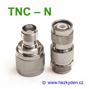 Redukce adapter TNC - N konektor