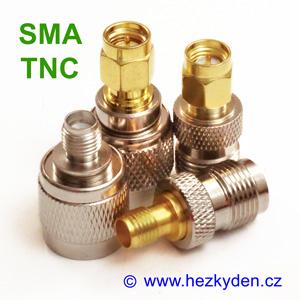 redukce adapter TNC SMA