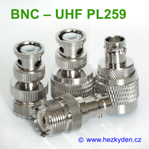 Redukce BNC - UHF PL259