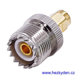 Redukce SMA - UHF PL259 - konektor typ 2