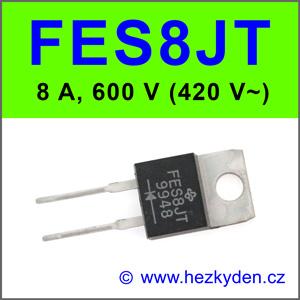 Rychlá dioda FES8JT