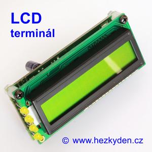 Sériový LCD terminál