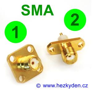 konektor SMA do panelu