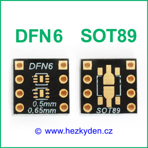 SMD adapter DFN6 SOT89