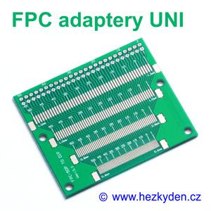 SMD adapter FPC FFC univerzální 50 pin