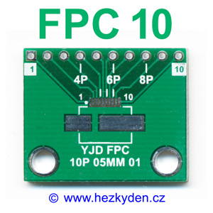 SMD adapter FPC10