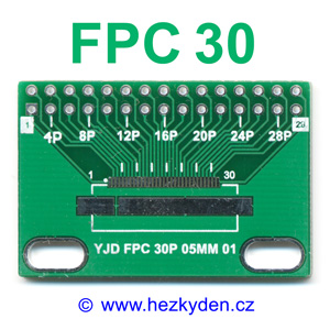 SMD adapter FPC30