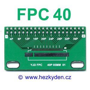 SMD adapter FPC40