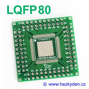 SMD adapter LQFP80