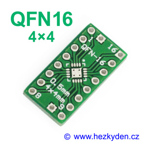 SMD adapter QFN16 4x4