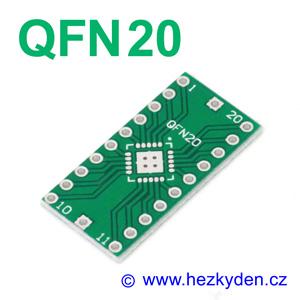 SMD adapter QFN20
