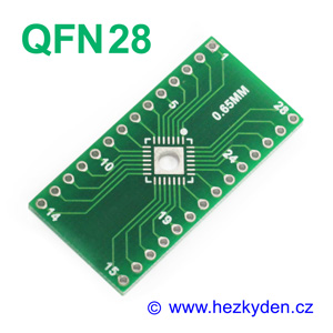 SMD adapter QFN28 special