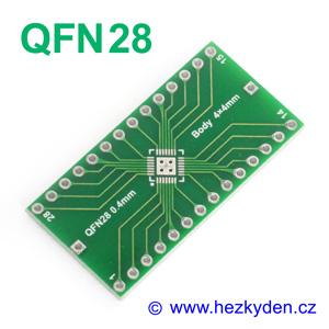 SMD adapter QFN28