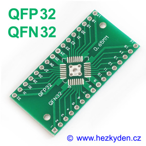 SMD adapter QFN32 QFP32
