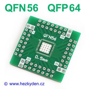 SMD adapter QFN56 QFN64