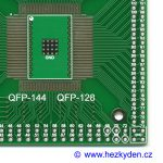SMD adapter QFP-144 QFP-128