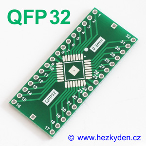 SMD adapter QFP32