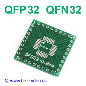 SMD adapter QFP32 QFN32
