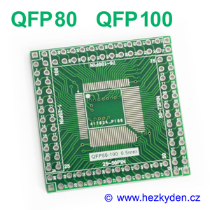 SMD adapter QFP80 QFP100