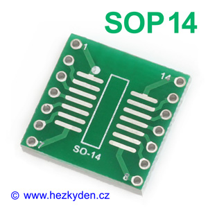 SMD adapter SOP14
