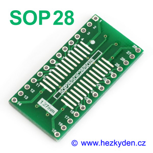SMD adapter SOP28