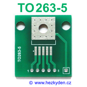 SMD adapter TO263-5