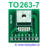SMD adapter TO263-7