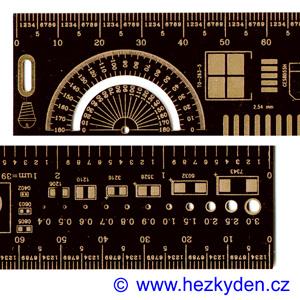 SMD pravítko 20 cm