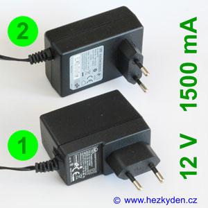 Spínaný zdroj adapter 12V 1500mA