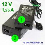 Spínaný zdroj adapter 12 V 1,25 A