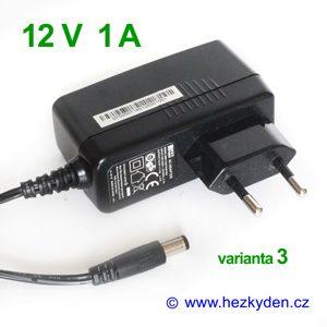 Spínaný zdroj adapter 12V 1A - varianta 3