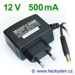 Spínaný zdroj adapter 12V 500mA