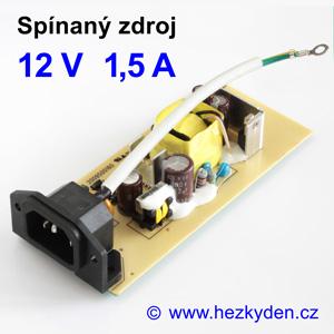 Spínaný zdroj modul 12V 1,5A