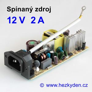 Spínaný zdroj modul 12V 2A