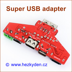 Super USB adapter board